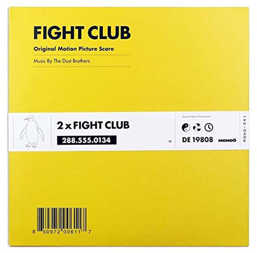 Fight Club Soundtrack Dust Brothers Vinyl LP 2017