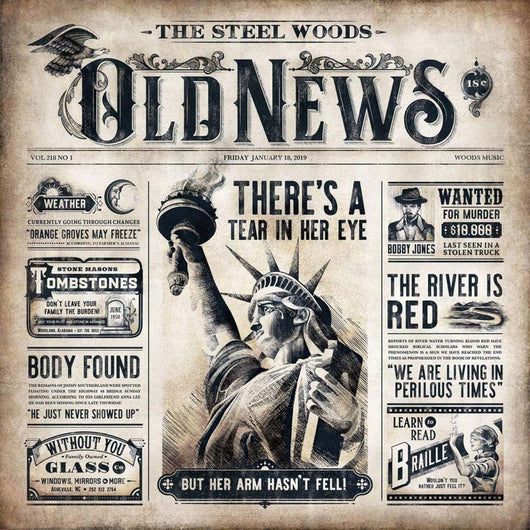 The Steel Woods Old News Vinyl LP New 2019