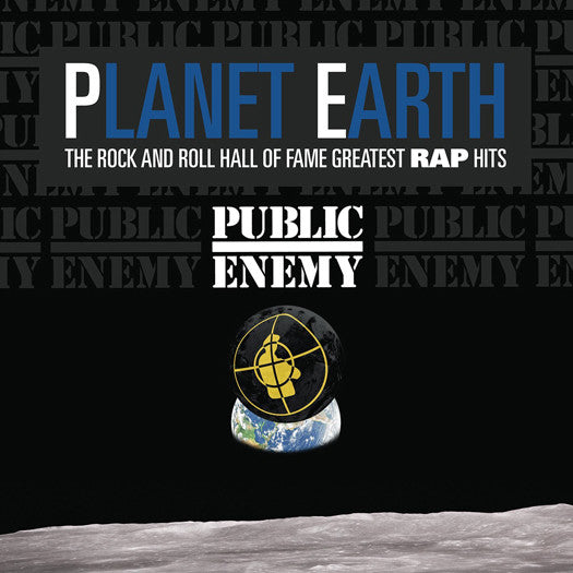 PUBLIC ENEMY PLANET EARTH AND ROLL HALL OF FAME LP VINYL NEW 33RPM