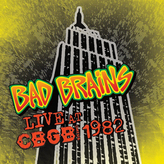 BAD BRAINS LIVE CBGB 1982 LP VINYL NEW (US) 33RPM COLOURED
