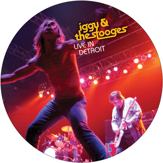 IGGY AND THE STOOGES LIVE IN DETROIT 2003 LP VINYL AND DVD NEW 33RPM