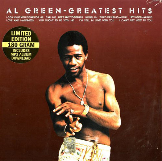 AL GREEN GREATEST HITS LP VINYL NEW 2013 33RPM LIMITED ED