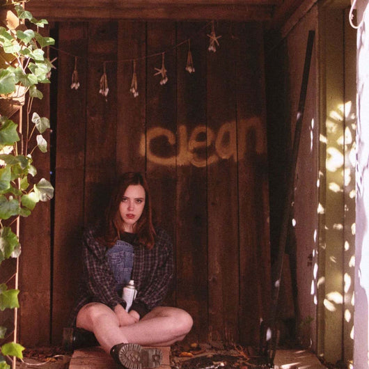 Soccer Mommy Clean Lp Indies Only Clear Vinyl New 2018