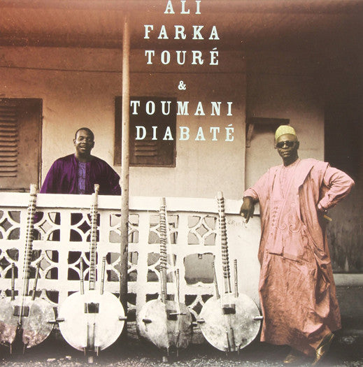 ALI FARKA TOURE & TOUMANI DIABATE ALI & TOUMANI DOUBLE LP VINYL NEW 33RPM