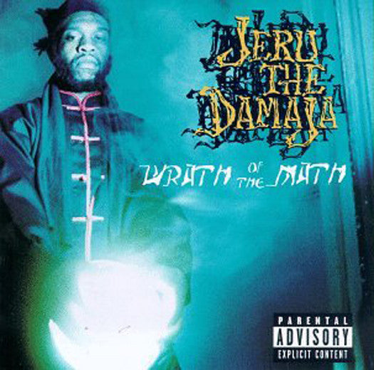 JERU THE DAMAJA WRATH OF THE MATH LP VINYL 33RPM NEW