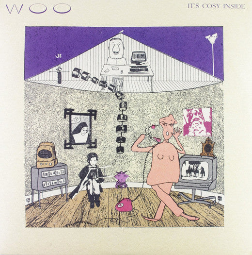 WOO ITS COZY INSIDE LP VINYL 33RPM NEW