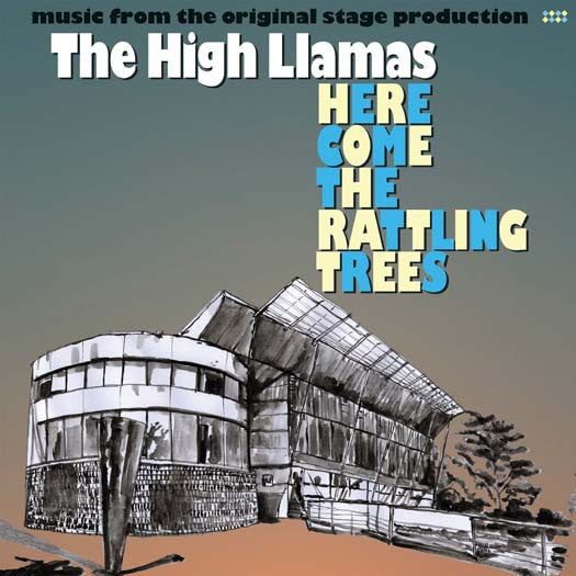 HIGH LLAMAS HERE COME THE RATTLING TREES LP VINYL NEW