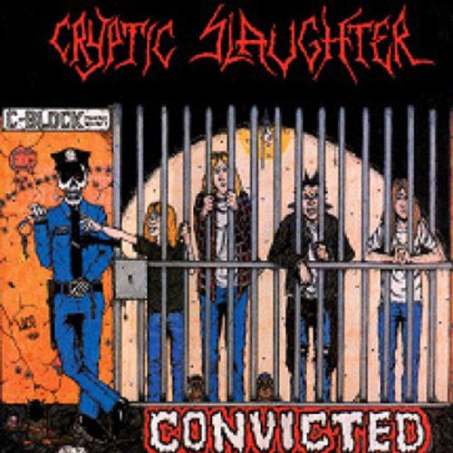 CRYPTIC SLAUGHTER CONVICTED LP VINYL 33RPM NEW