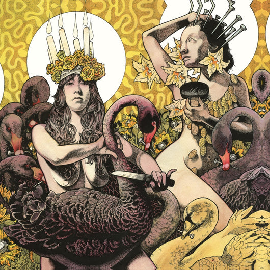BARONESS YELLOW AND GREEN LP VINYL 33RPM NEW