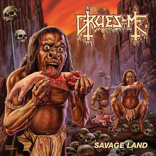 GRUESOME SAVAGE LAND LP VINYL NEW 33RPM