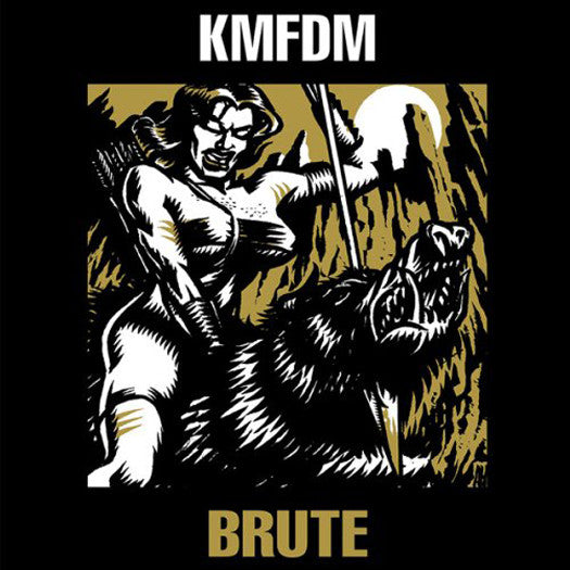 KMFDM BRUTE VINYL SINGLE NEW (US) 33RPM