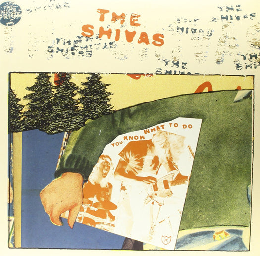SHIVAS YOU KNOW WHAT TO DO LP VINYL NEW (US) 33RPM