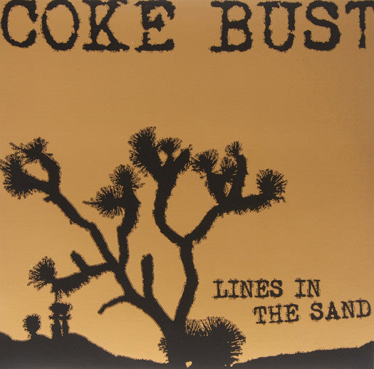 COKE BUST LINES IN THE SAND LP VINYL NEW (US) 33RPM