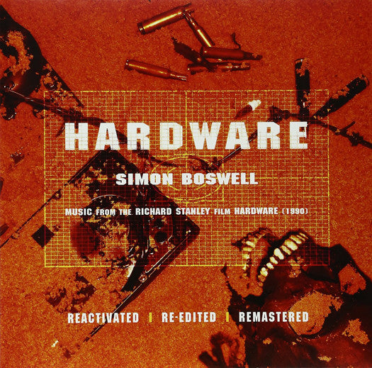 SIMON BOSWELL HARDWARE SOUNDTRACK LIMITED EDITION LP VINYL NEW (US) 33RPM
