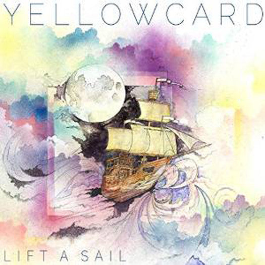 YELLOWCARD LIFT SAIL LP VINYL NEW 33RPM