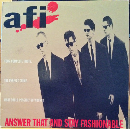AFI ANSWER THAT & STAY FASHIONABLE LP VINYL NEW (US) 33RPM