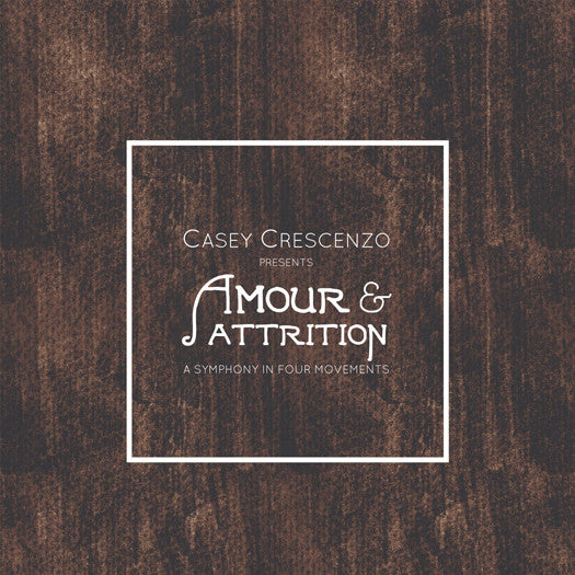 CASEY CRESCENZO AMOUR & ATTRITION LP VINYL NEW (US) 33RPM