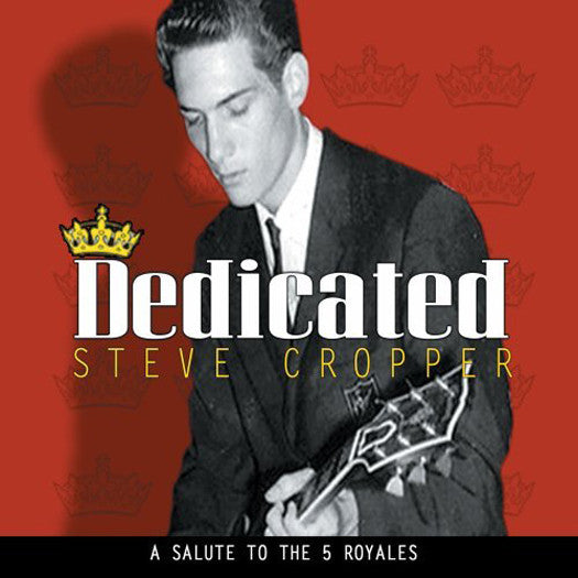 STEVE CROPPER DEDICATED LP VINYL NEW (US) 33RPM