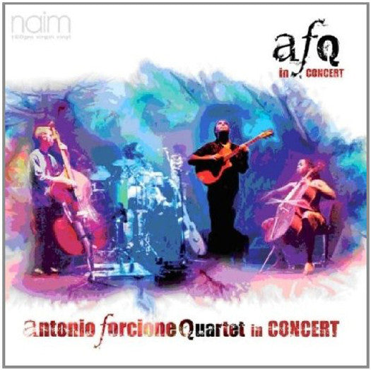 ANTONIO FORCIONE IN CONCERT LP VINYL 33RPM NEW 2011