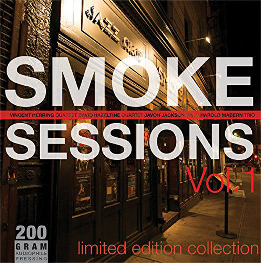 SMOKE SESSIONS 1 VARIOUS SMOKE SESSIONS 1 VARIOUS LP VINYL NEW (US) 33RPM