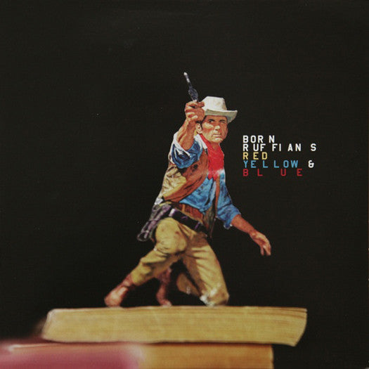 BORN RUFFIANS RED YELLOW AND BLUE LP VINYL NEW 2008 33RPM