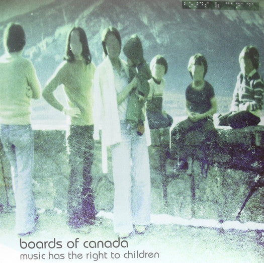 Boards Of Canada Has The Right To Children Double Vinyl LP 2013