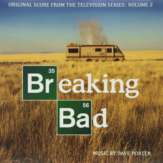 DAVE PORTER BREAKING BAD: ORIGINAL SCORE 2 LP VINYL NEW (US) 33RPM