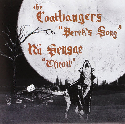 "Coathangers and Nu Sensae Derek's Song (2013) Rock Music LP 7"" Vinyl New"