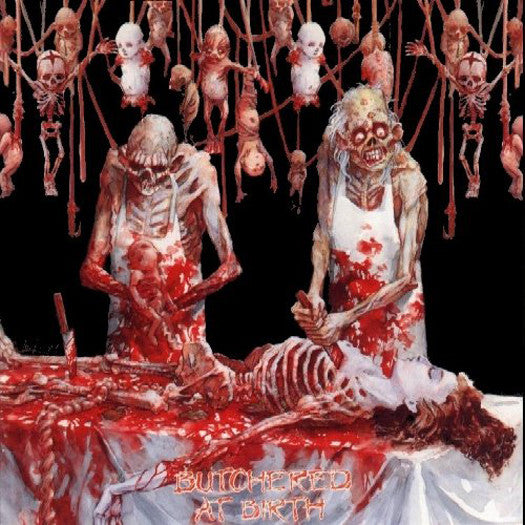CANNIBAL CORPSE BUTCHERED AT BIRTH 2009 LP VINYL NEW 33RPM