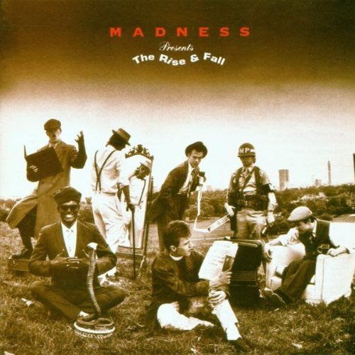 MADNESS THE RISE AND FALL LP VINYL 33RPM NEW