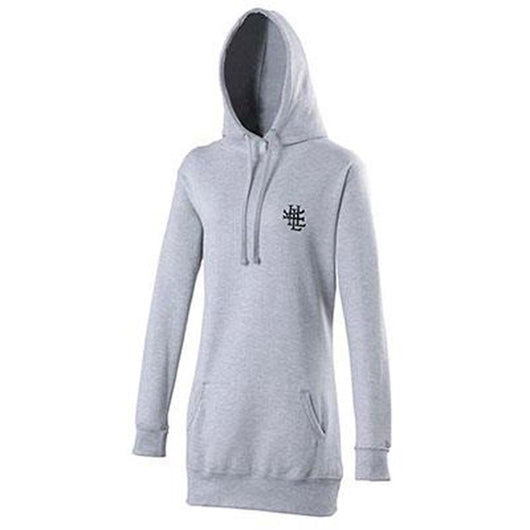 ENCRYPTED Ladies LONGLINE HOODED SWEAT SMALL NEW OFFICIAL