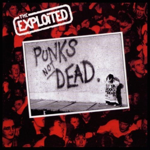 EXPLOITED PUNKS NOT DEAD DOUBLE LP VINYL 33RPM NEW