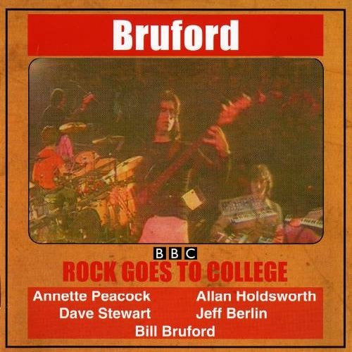 BILL BRUFORD GOES TO COLLEGE LP VINYL 33RPM NEW