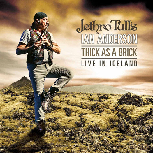 JETHRO TULLS IAN ANDERSON THICK AS A BRICK ICELAND LP VINYL 33RPM NEW