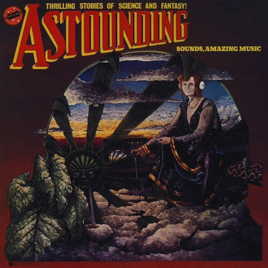 HAWKWIND ASTOUNDING SOUNDS AMAZING MUSIC LP VINYL NEW 33RPM