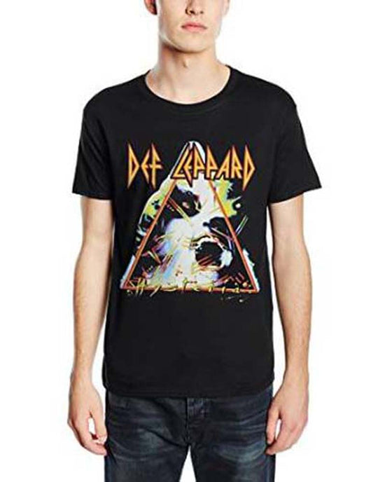 DEF LEPPARD HYSTERIA MENS LARGE T SHIRT NEW OFFICIAL BLACK