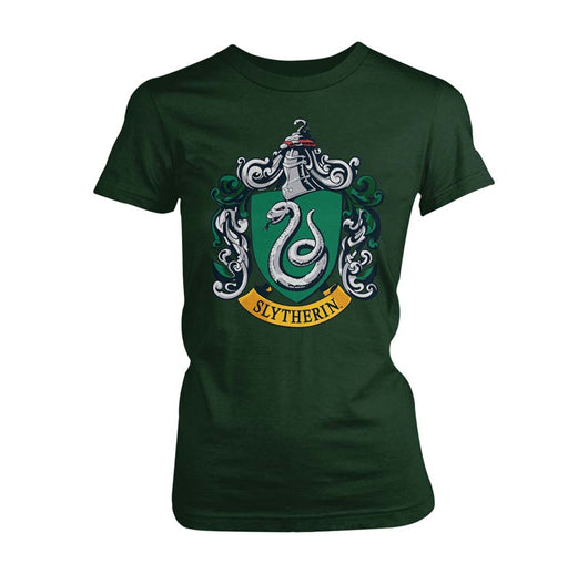 HARRY POTTER Slytherin LADIES Green SIZE MEDIUM T-shirt NEW