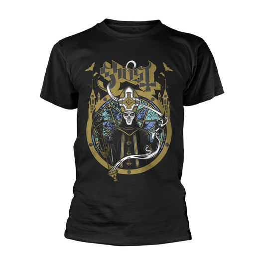GHOST Satanas Spes Notra MENS Black SMALL T-Shirt NEW