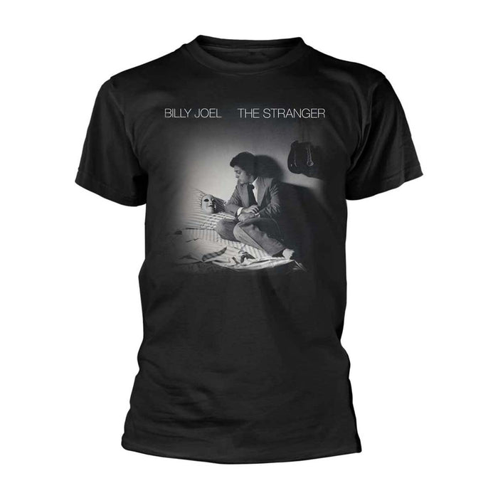 BILLY JOEL The Stranger MENS Black MEDIUM T-Shirt NEW