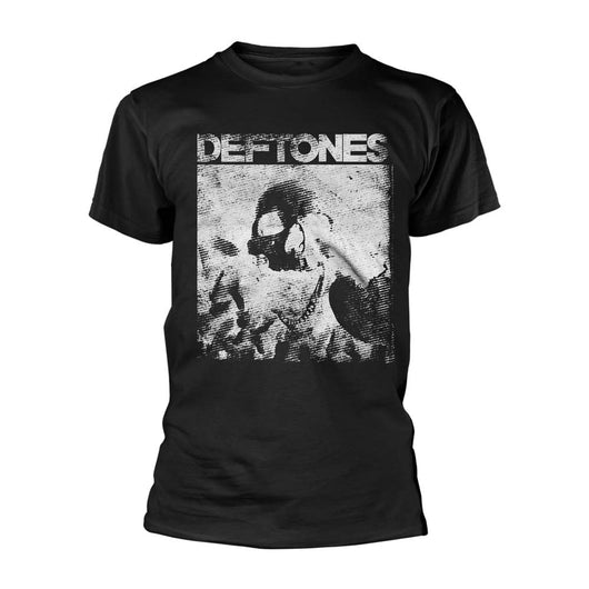 DEFTONES Skull MENS Black LARGE T-Shirt NEW
