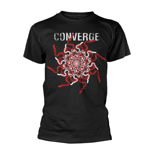 CONVERGE Snakes MENS Black SMALL T-Shirt NEW