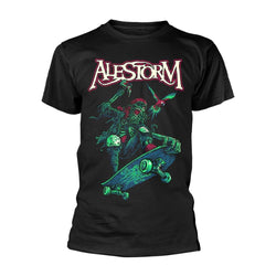 ALESTORM Pirate Pizza Party MENS Black LARGE T-Shirt NEW