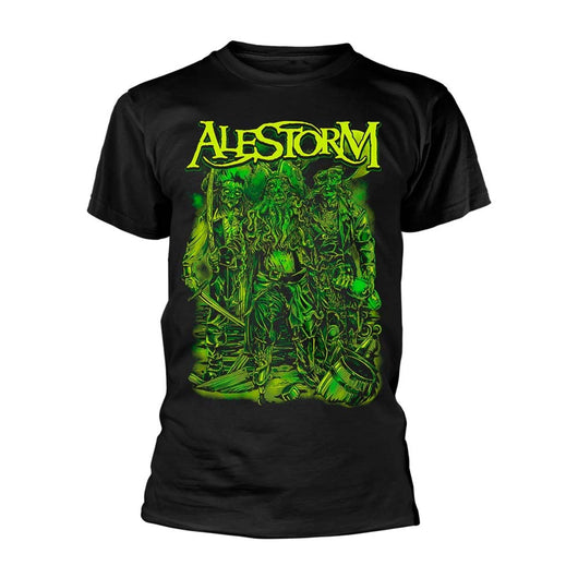 ALESTORM Take No Prisoners MENS Black XL T-Shirt NEW