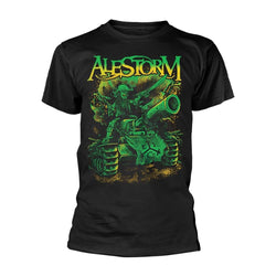 ALESTORM Trenches And Mead MENS Black MEDIUM T-Shirt NEW