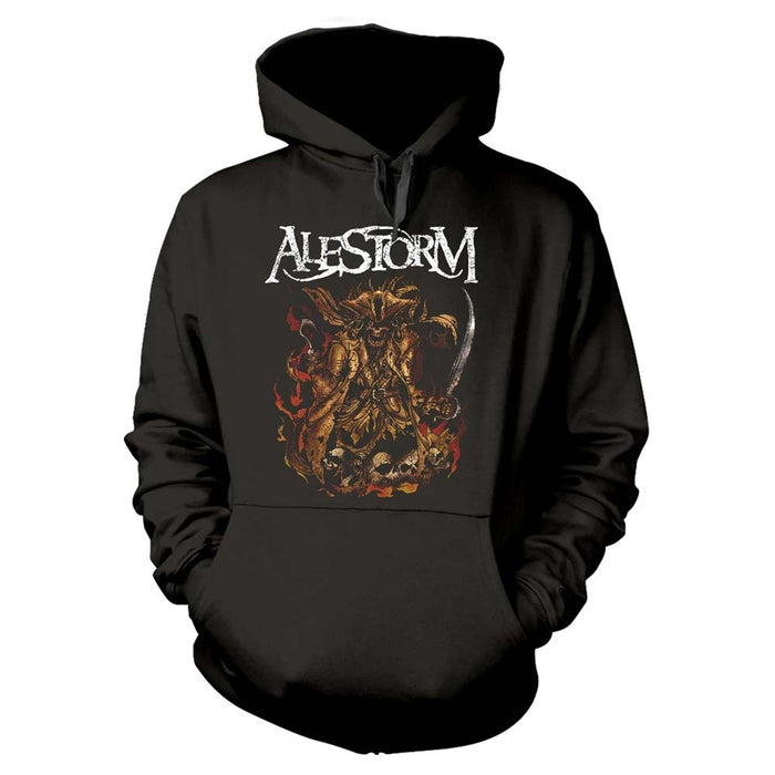 ALESTORM We Are Here To Drink Your Beer! MENS Black LARGE Hoodie NEW