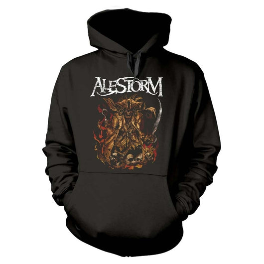 ALESTORM We Are Here To Drink Your Beer! MENS Black MEDIUM Hoodie NEW