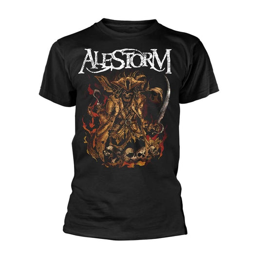 ALESTORM We Are Here To Drink Your Beer! MENS Black SMALL T-Shirt NEW