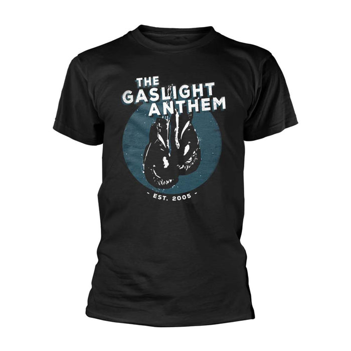 THE GASLIGHT ANTHEM Boxing Gloves MENS Black SMALL T-Shirt NEW