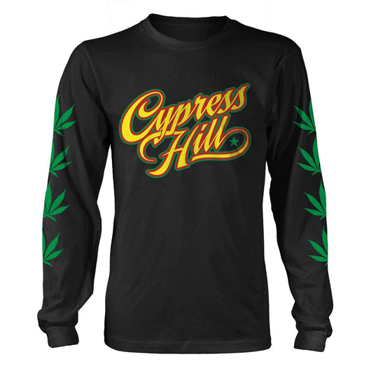 CYPRESS HILL Rasta MENS Black LARGE T-Shirt NEW