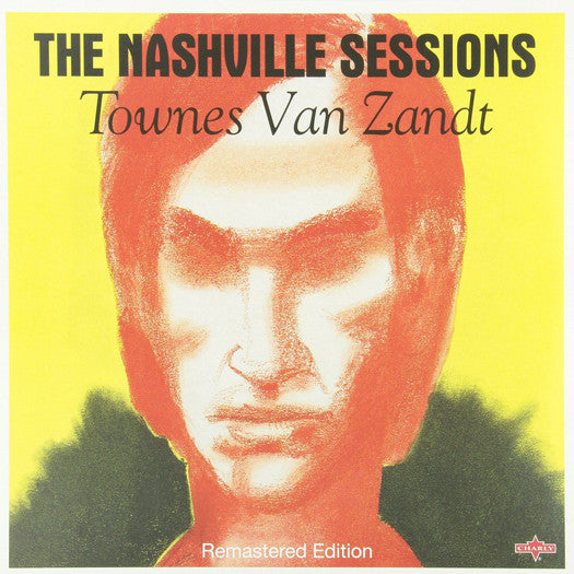 ZANDT TOWNES VAN NASHVILLE SESSIONS (UK) LP VINYL NEW (US) 33RPM